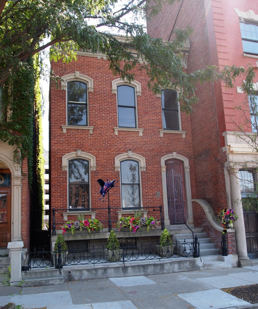 Total reconstruction of Downtown Cincinnati Brownstone located at 219 W. Ninth Street