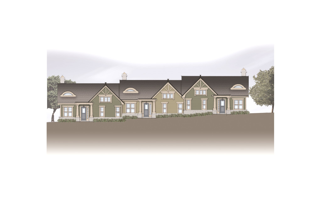 Woodland Vistas Front Elevation Phase II